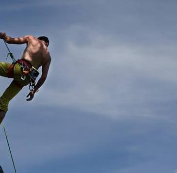 horolezec, vysoké tatry