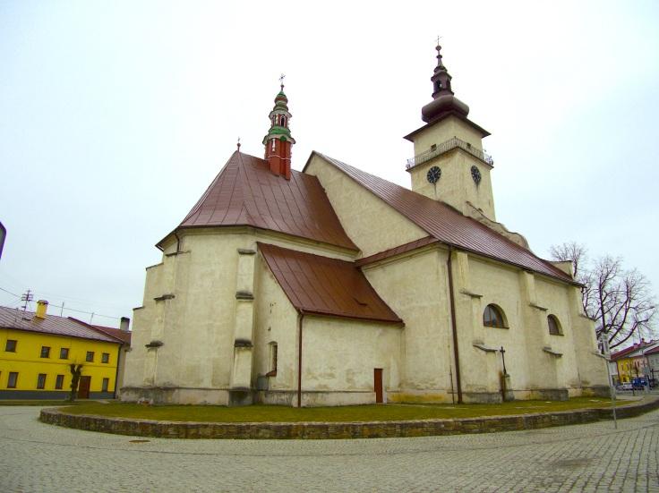 kostol Podolínec
